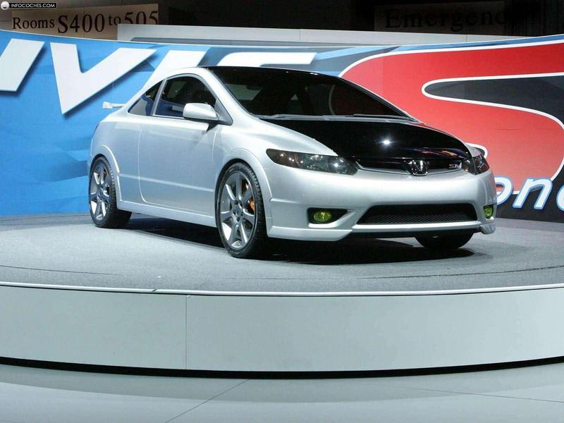 2005 Honda Civic Si Concept Car Photos Catalog 2018