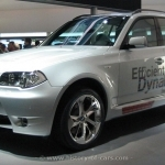 2017 BMW X3 EfficientDynamics Concept
