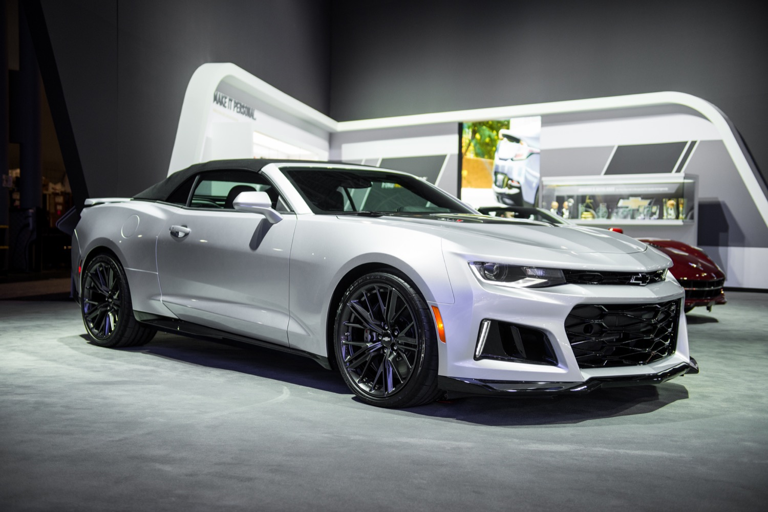 2017 Chevrolet Camaro Convertible Concept Photo 1
