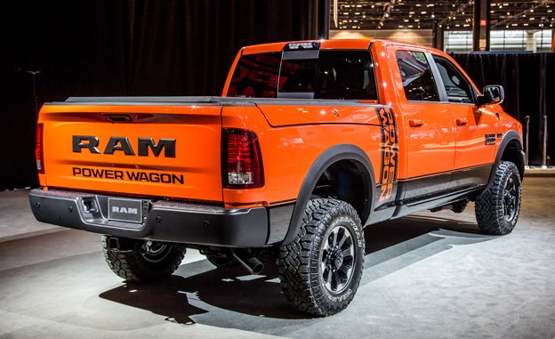 2017 Dodge Ram 1500 With Optional Hemi