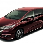2017 Honda Odyssey Absolute Japanese Version