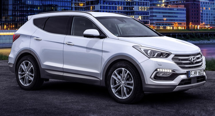 The Latest 2017 Hyundai Santa Fe Us Version Refresh Brings Forth A Mulude Of Updates And Upgrades That Car Brands Hopes Will Help Cement Its Position At