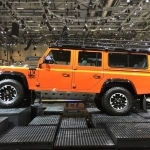 2017 Land Rover Defender Electric Concept