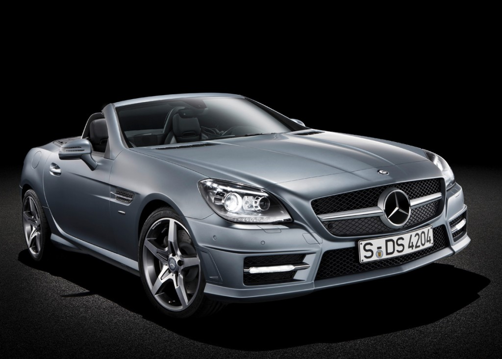 2017 Mercedes Benz Slk350 Photo 1