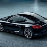 2017 Porsche Cayman S Black Edition