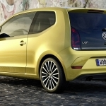 2017 Volkswagen E Up Concept