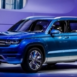2017 Volkswagen CrossBlue Coupe Concept