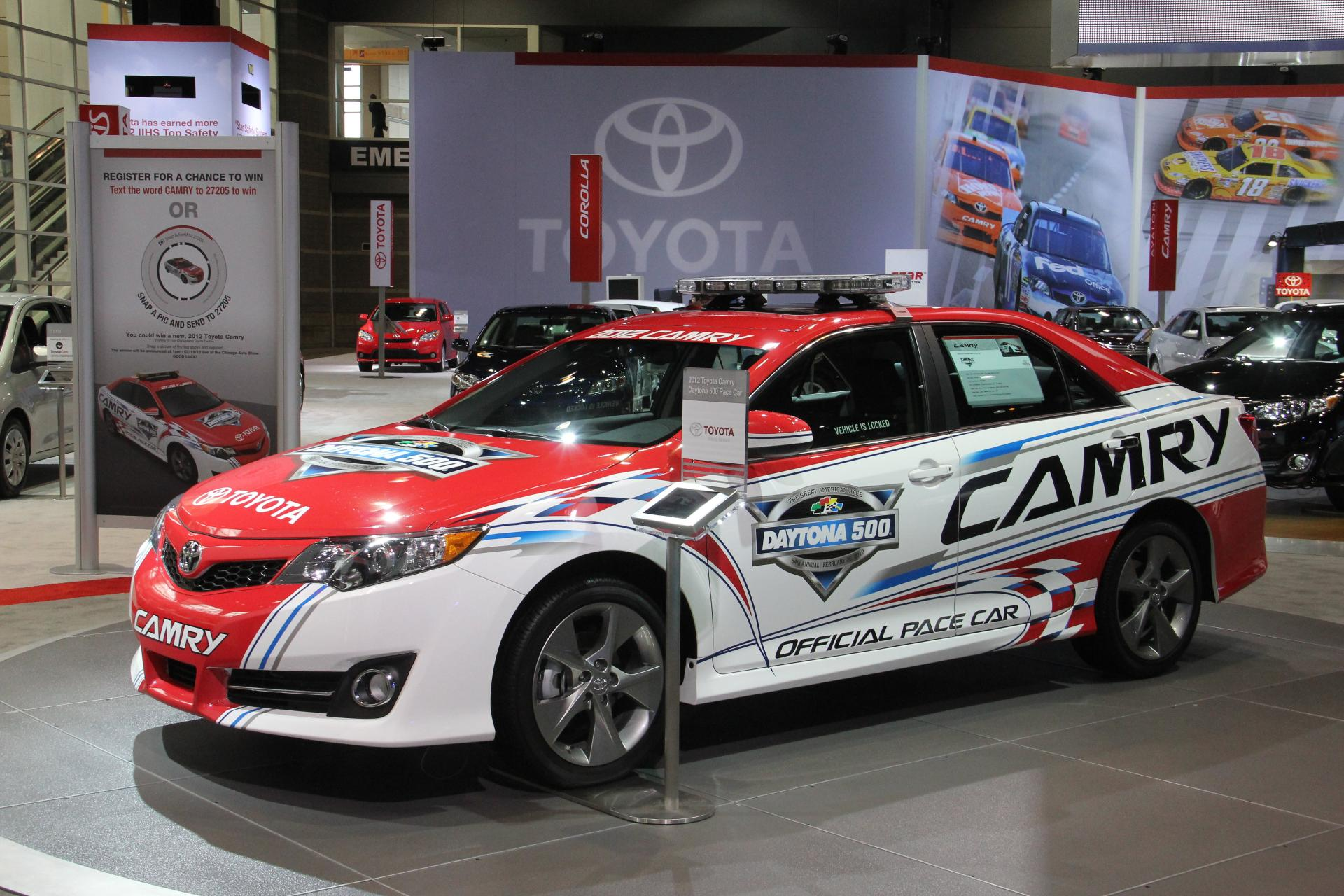 Get Information On New 2018 Toyota Camry Daytona 500 Pace Car Cars And Find Photos Click Through High Resolution