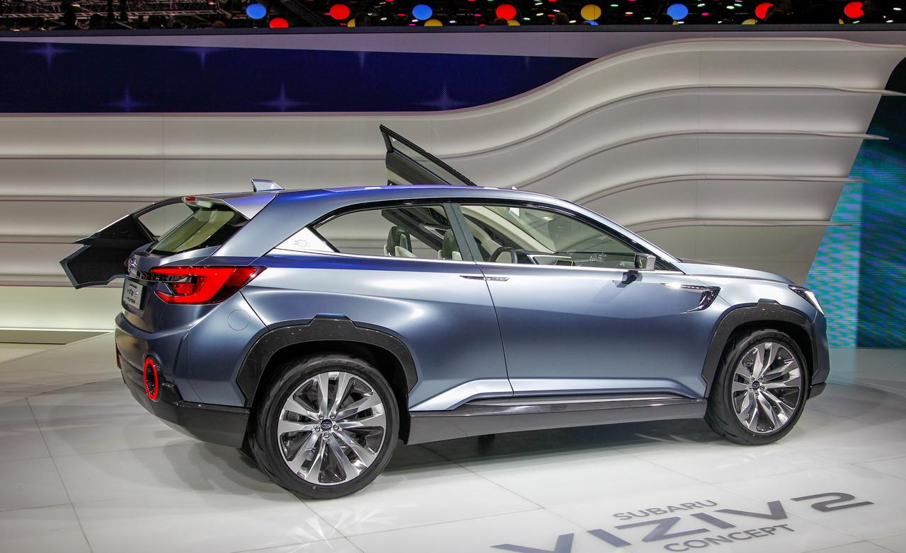 2018 Subaru Xv Concept Photo 1