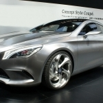 2018 Mercedes Benz Style Coupe Concept