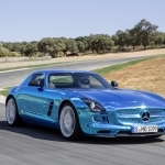 2018 Mercedes Benz SLS AMG Coupe Electric Drive