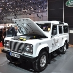 2018 Land Rover Defender Electric Concept