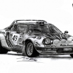 2018 Lancia Stratos Rally Version