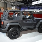 2018 Jeep Willys2 Concept