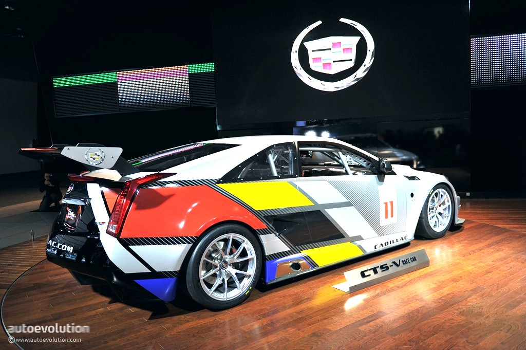 2018 Cadillac Cts V Coupe Race Car Is Going To Get Quite A Few Visual Updates Over It The Entire Body Kit Will Be Revamped With More Aggressive Styling
