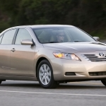 2019 Toyota Camry CNG Hybrid Concept