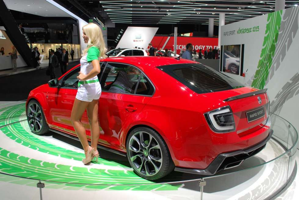 2019 Skoda Rapid Sport Concept Car Photos Catalog 2019