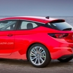 2019 Opel Astra GTC with Panoramic Roof