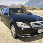 2019 Mercedes Benz S600 Pullman Guard