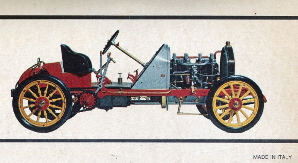 1907 Fiat 130 HP Grand Prix de France Corsa photo - 1