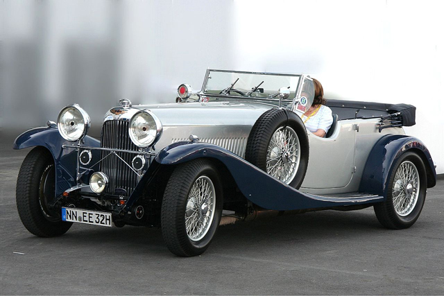 1934 Aston Martin Lagonda M45 Tourer photo - 2