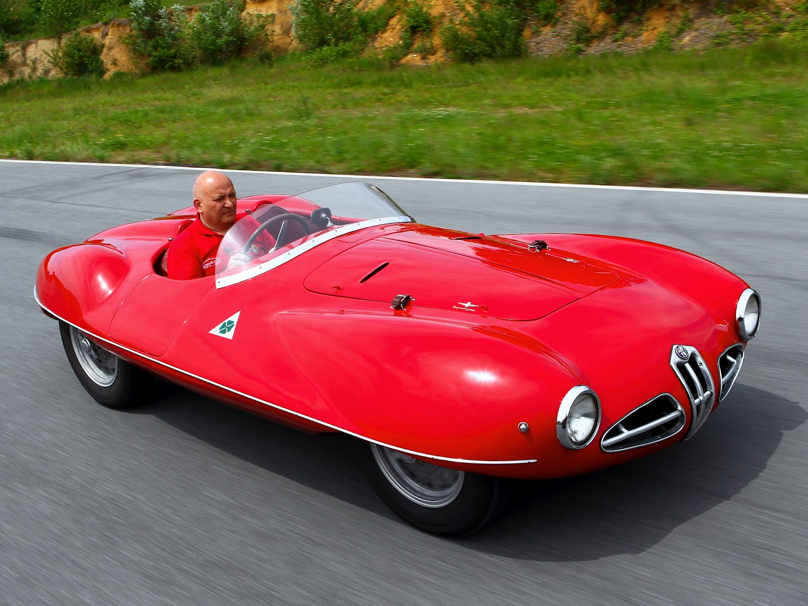 1952 Alfa Romeo C 52 Disco Volante 2000 Spider photo - 2
