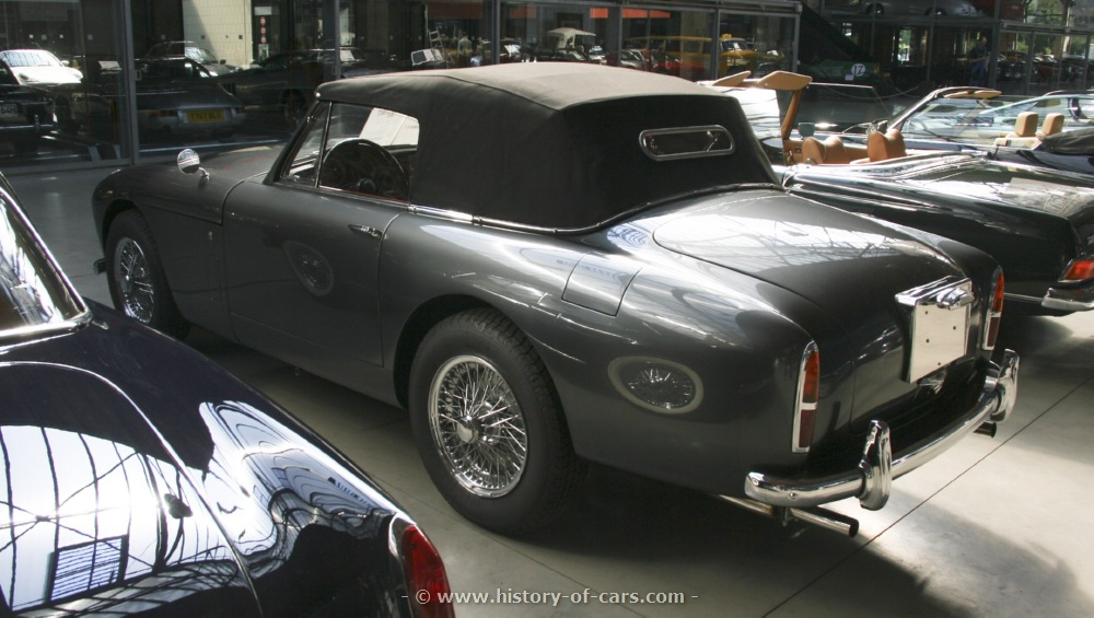 1957 Aston Martin DB Mark III photo - 1