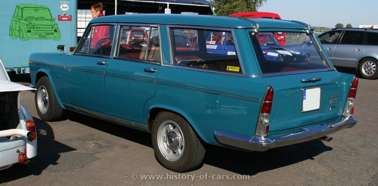 1961 Fiat 2300 Station Wagon Car Photos Catalog 2018