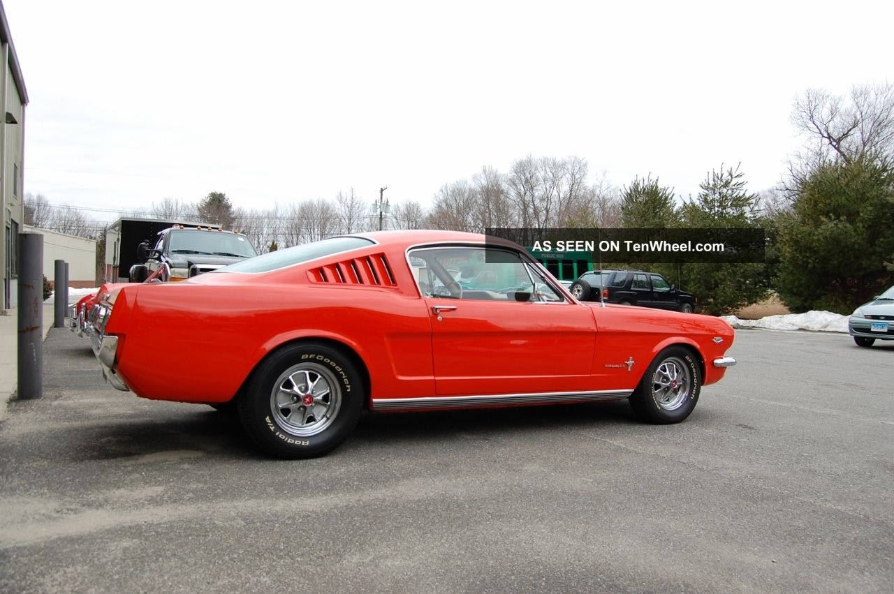 1965 Ford Mustang K Code photo - 1