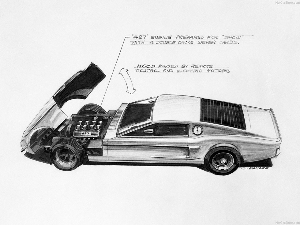 1966 Ford Mustang Mach 1 Concept photo - 2