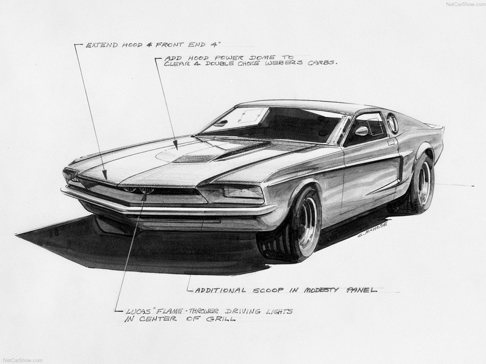 1966 Ford Mustang Mach 1 Concept photo - 3