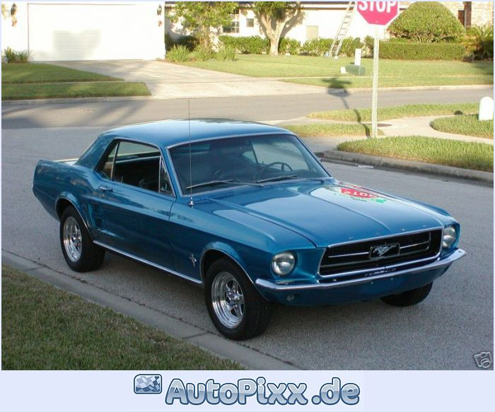 1967 Ford Mustang photo - 2