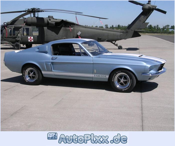 1967 Ford Mustang Shelby GT500 photo - 1