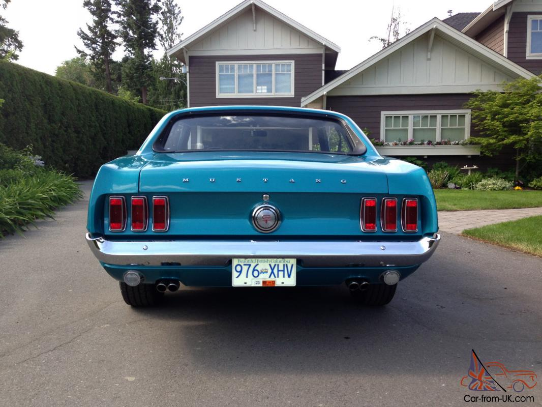 1969 Ford Mustang GT photo - 1