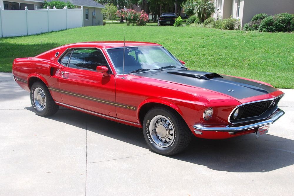 1969 Ford Mustang Mach 1 photo - 3