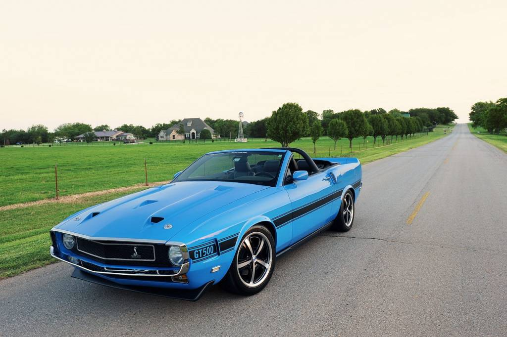 1969 Ford Mustang Shelby GT500 photo - 1