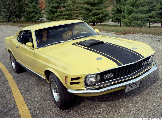 1970 Ford Mustang Mach 1 photo - 2