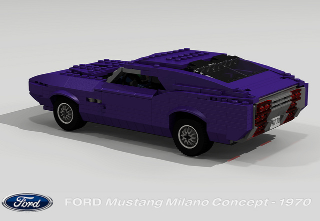 1970 Ford Mustang Milano Concept photo - 2