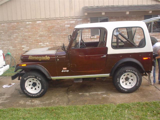 1977 Jeep CJ 7 Renegade photo - 2