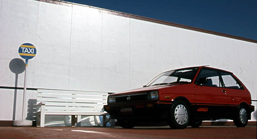 1984 Subaru Justy photo - 2