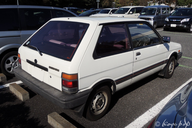 1984 Subaru Justy photo - 3