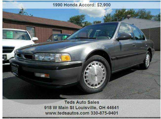 1990 Honda Accord Sedan photo - 1