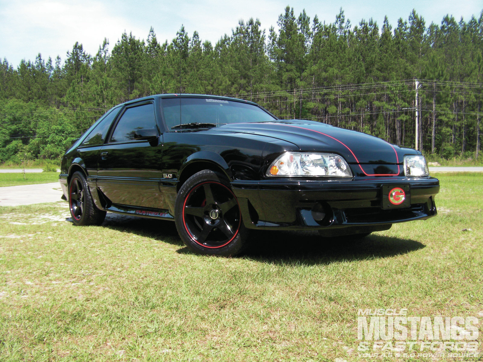 1993 Ford Mustang GT photo - 3