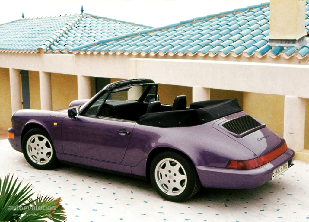 1993 Porsche 911 Carrera 2 Cabrio photo - 1