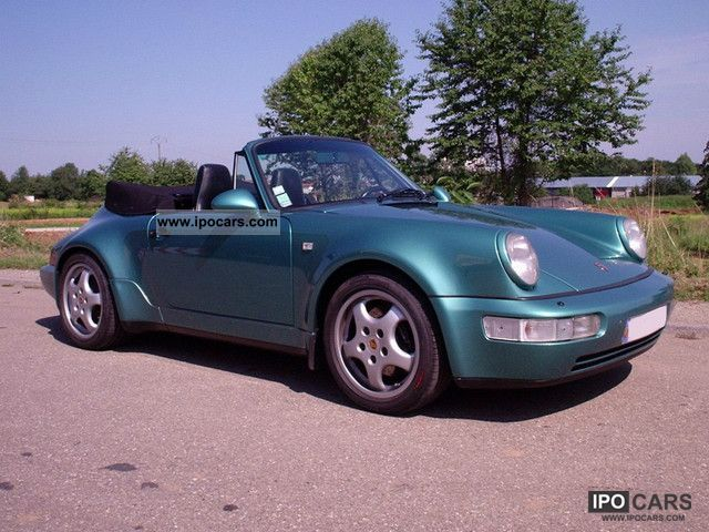1993 Porsche 911 Carrera 2 Cabrio photo - 2
