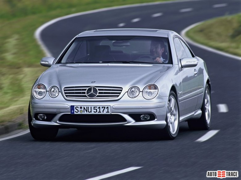 1999 Mercedes Benz CL Coupe photo - 2