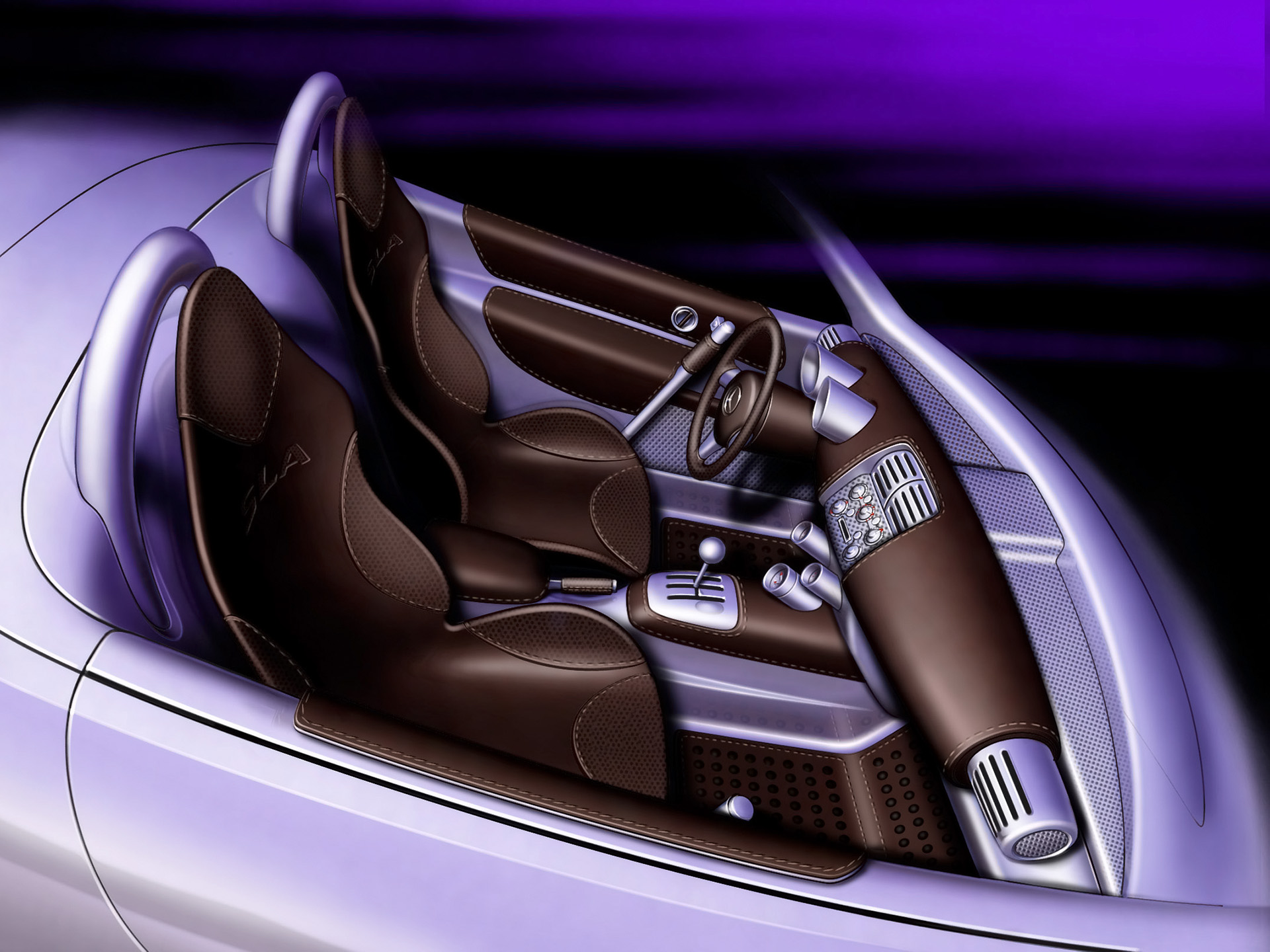 2000 Mercedes Benz Vision SLA Concept photo - 1