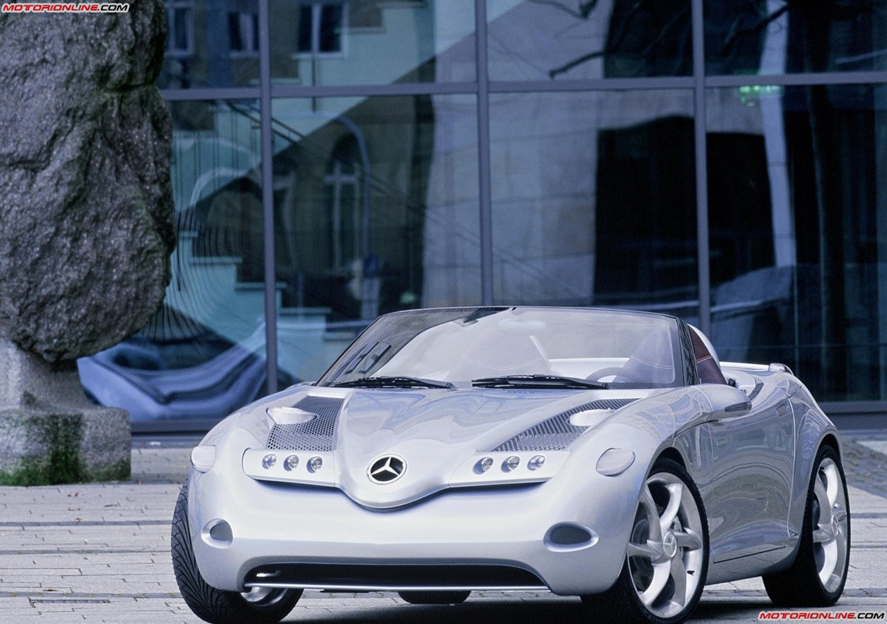 2000 Mercedes Benz Vision SLA Concept photo - 3