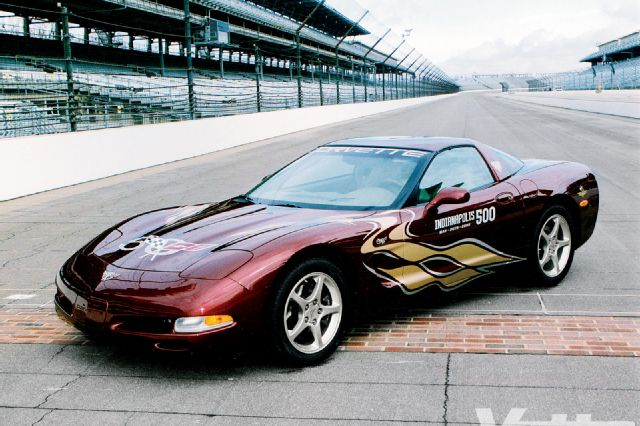 2002 Chevrolet Corvette Indy 500 Pace Car photo - 1