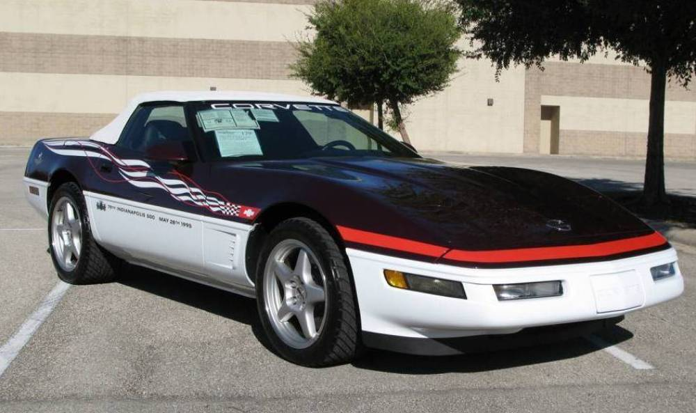 2002 Chevrolet Corvette Indy 500 Pace Car photo - 2